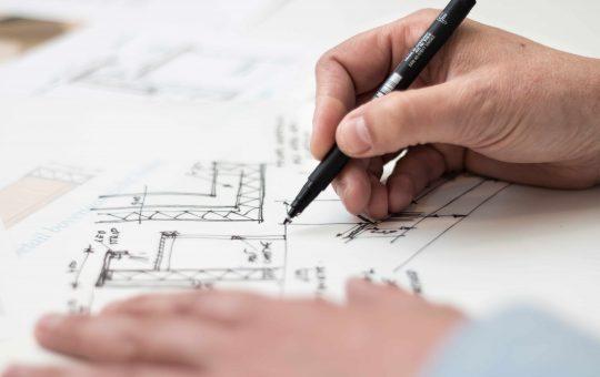 Een architect inhuren voor het ontwerpen van een moderne bungalow